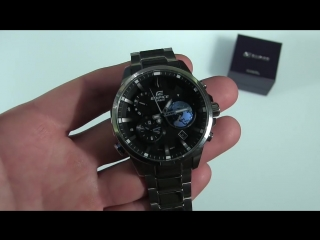 ЧАСЫ CASIO EDIFICE EQB-600D, Обзор, Распаковка - Мужские часы - Касио Эдифайс