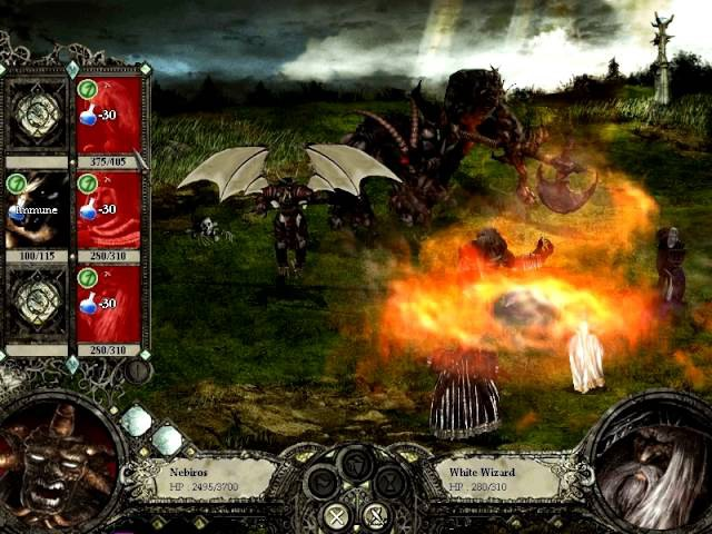 Disciples 2 - Nebiros vs Archangel (3 Leadership)