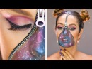 DIY Beauty Hacks | Be The Center of The Universe With This Stellar Galaxy Makeup More Ideas