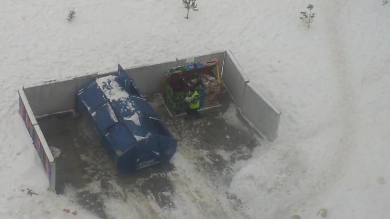 Безраздельный сбор мусора 13 02 18 Красное Село