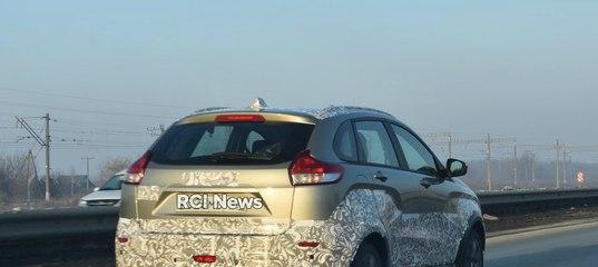 Lada Xray Cross «поймали» на тестах