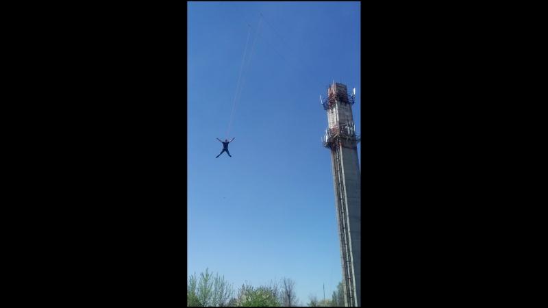Мой первый прыжок (45м)