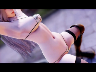 MMD SEXY -  A2 Nier Automata Sexy Bikin - Mi Mi MiR18 1080p 60FPS
