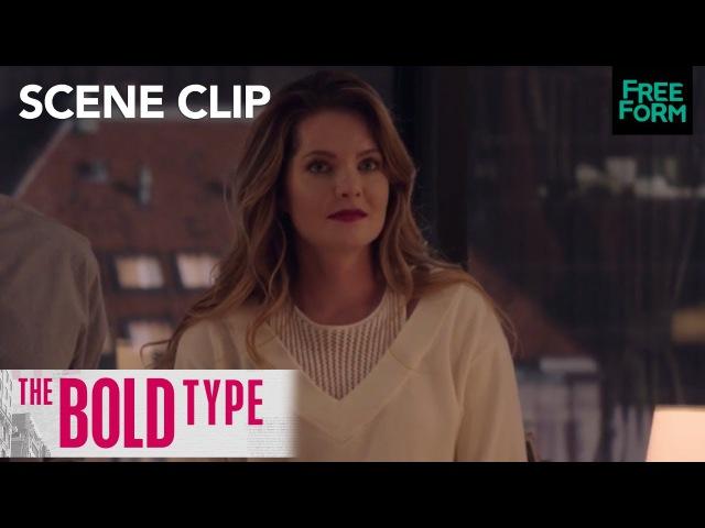 The Bold Type Season 1 Episode 9 Janestripe Salex In Jacqueline's Office Freeform