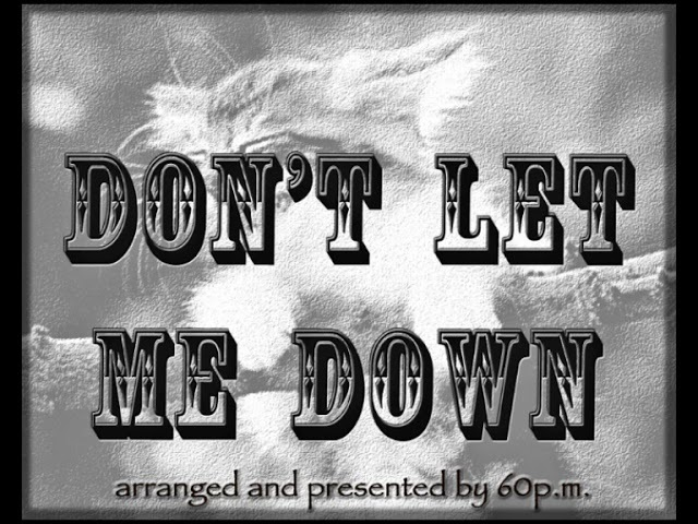 Don't Let Me Down by The Beatles Guitar cover