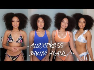 Aliexpress Bikini Haul + Try On Part 2! | Bea Tetteh