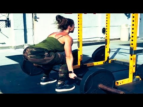 WOMEN BODYBUILDIND This mix routine will fire you up Linda Durbesson