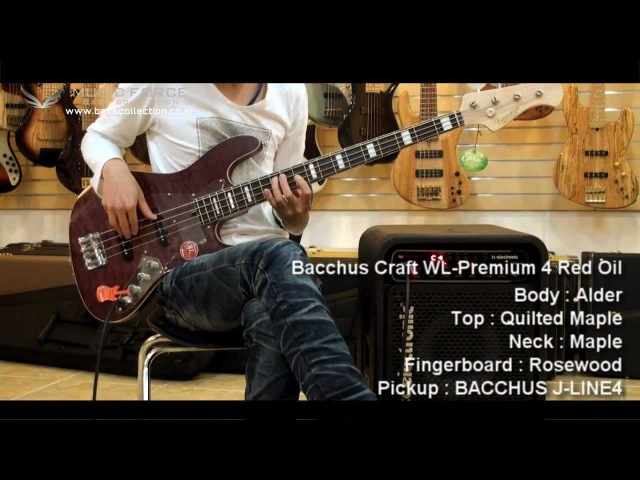 Fender U S A Select Jazz Bass Bacchus Craft WL Premium Global B Custom Test