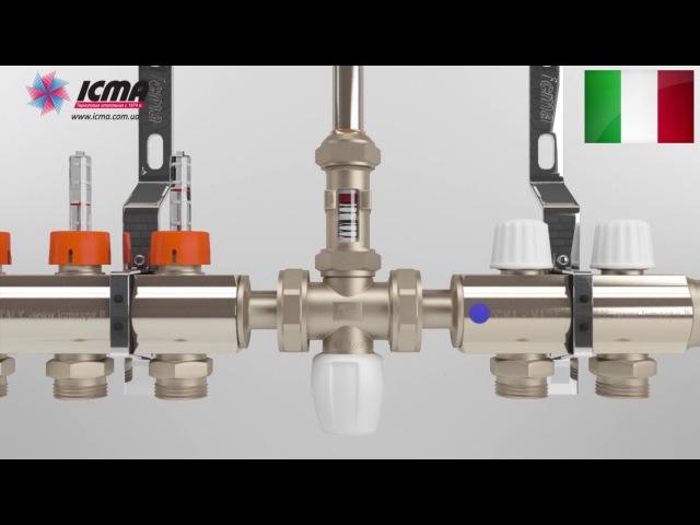 Заполнение настройка и работа коллекторной системы ICMA 1