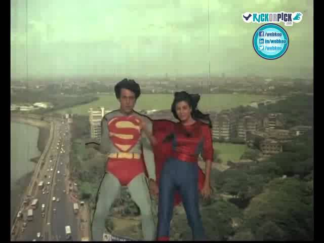 INDIAN SUPERMAN AND SPIDERWOMAN!