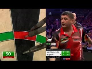 Raymond van Barneveld vs Mensur Suljovic (2018 Premier League Darts / Week 2)