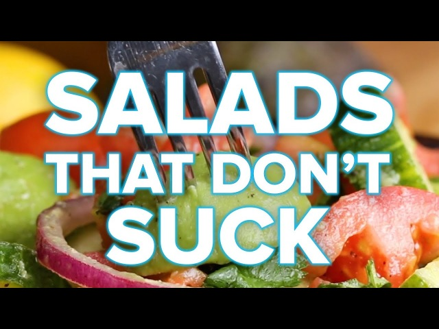 Satisfying salads that dont suck