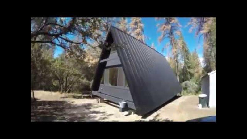 Yosemite CA Tour Of Amazing Aframe Cabin