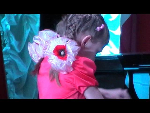XI Международный Конкурс памяти В Горовица I Премия в номинации А Екатерина Елисеева 8 лет