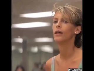 John travolta aerobics