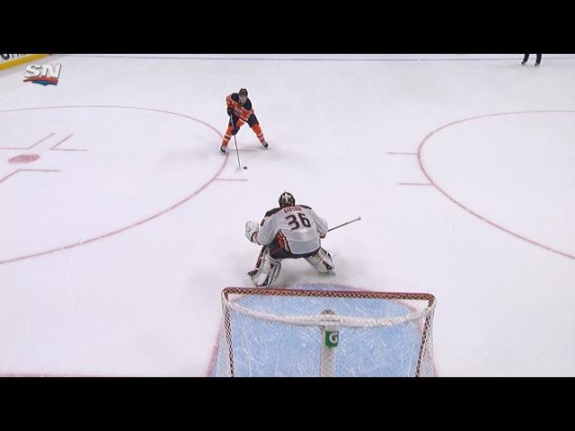 Cammalleri Nugent Hopkins score for Oilers in SO