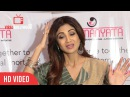 Full Media Interaction with Shilpa Shetty MANYATA Dont Forget MOMS A Fogsi Initiative