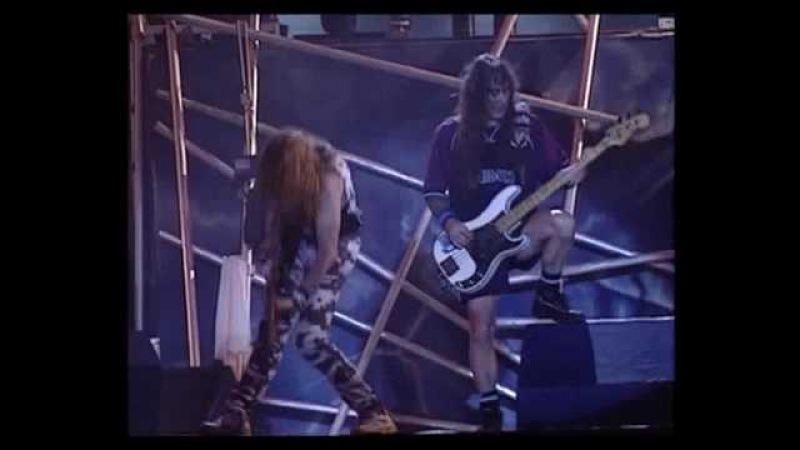 Iron Maiden Rock in Rio Part 12 The Clansman