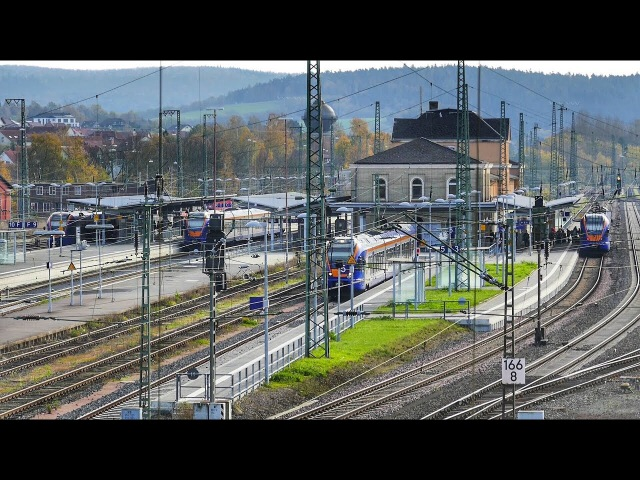 *Spezial* Bahnhof Bebra in Nordhessen Teil 2