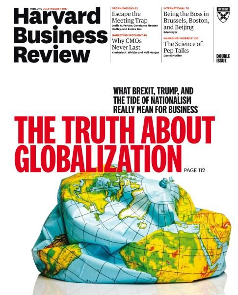Harvard Business Review USA July August 2017