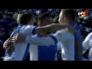 Эспаньол - Леганес 3-2. . Чемпионат Испании 2017-18