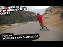 How To: Toeside Stand-Up Slide with Jimmy Riha | MuirSkate Longboard Shop