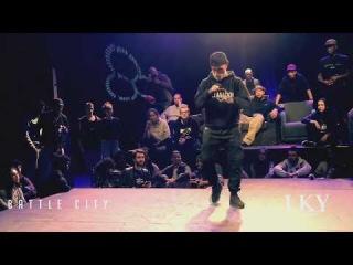Hip Hop 2017   Judge: MAJID   Crazy_Freestyle   BATTLE CITY LKY prod