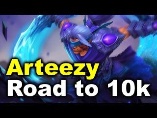 Arzeezy 9400 MMR vs US Pubs - Road to 10k DOTA 2