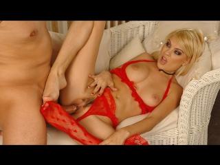 Jasmine Rouge [HD 720, All Sex, Blonde, Feet, Stockings, Natural Tits, Footjob, Fetish, Cumshot]