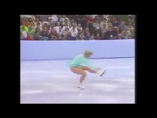 Tonya harding 1991 championship skate the passenger by siouxsie and the banshe