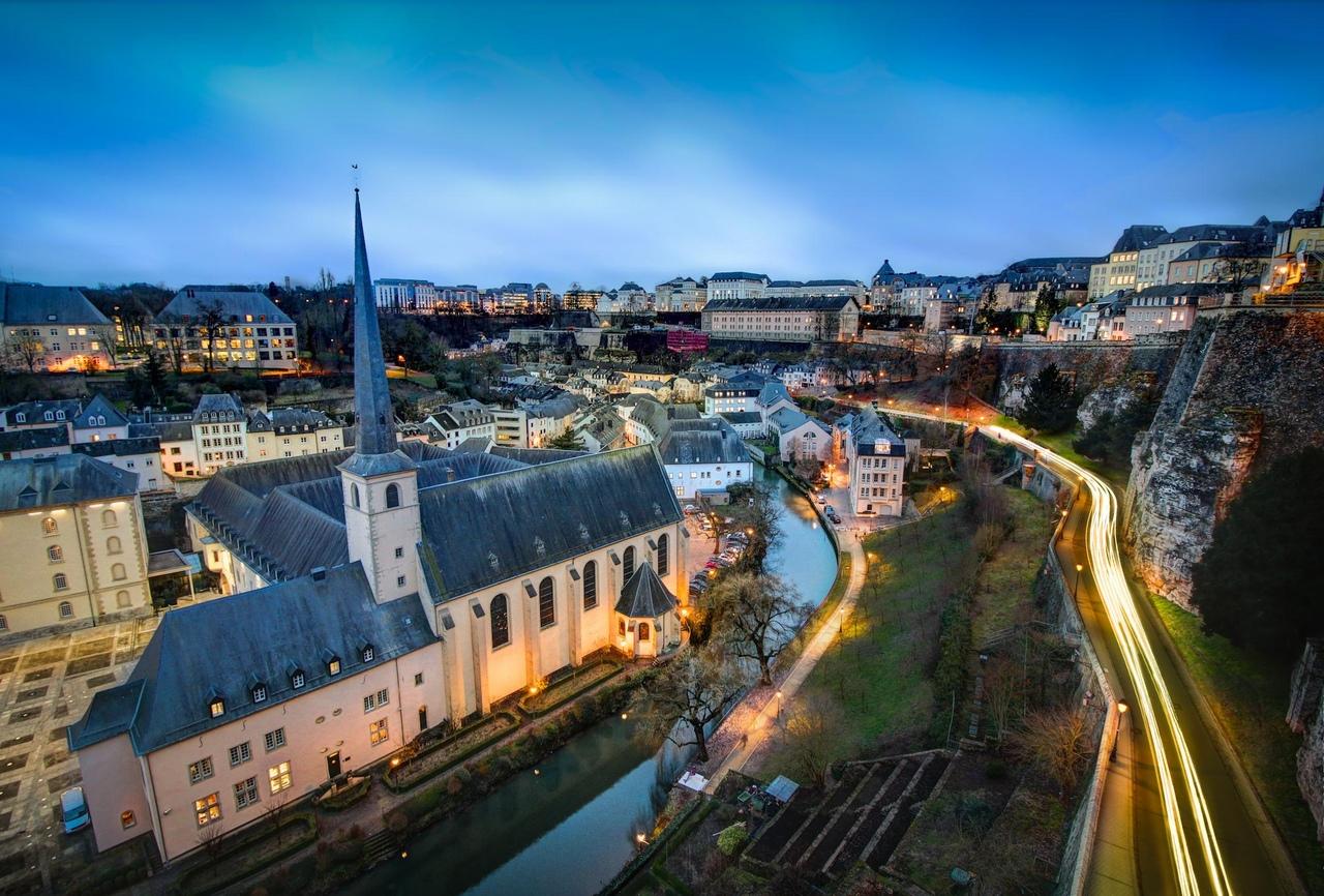люксембург фото города средней