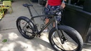 23lb size XL Carbon LaMere Fat Bike with 27.5 Wheels 6'5 Rider