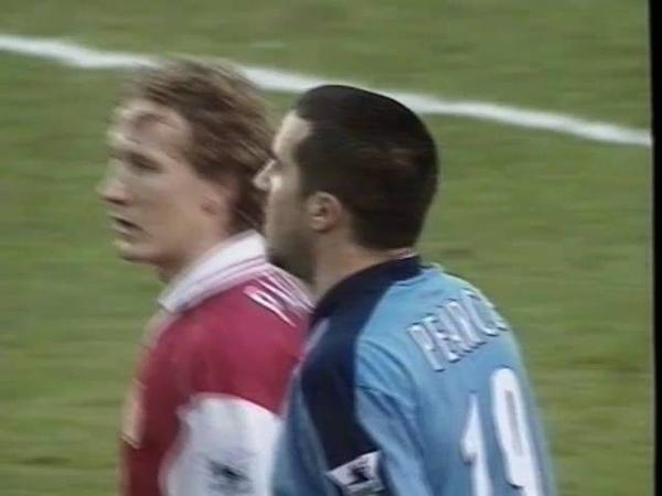 Arsenal v West Ham Utd FA Cup Quarter Final 1997/98