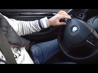 Сломалась BMW 520d.  Ремонт за 15 минут