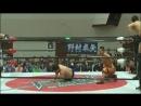 Kankuro Hoshino, Tatsuhiko Yoshino, Kota Sekifuda vs. Kazuki Hashimoto, Kazumi Kikuta, Takuho Kato (BJW - BJ-Style 16)