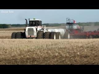 Самые большие и мощные тракторы.