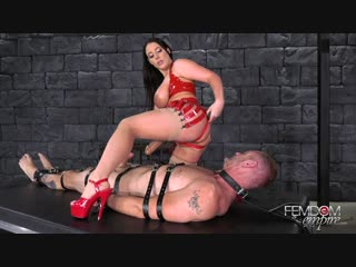 [femdomempire.com] angela white - cock cum guzzler [femdom, handjob, milking, bondage, pussy licking, strapon, 1080p]