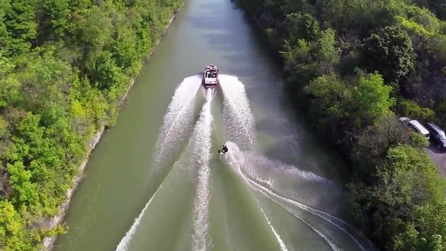 Red Bull Wakeskating the Erie Canal