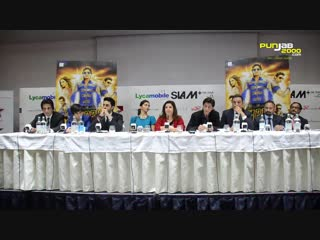 Happy New Year Film  Slam! the Tour - press conference in London