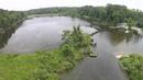 Mallows bay shipwreck drone maryland