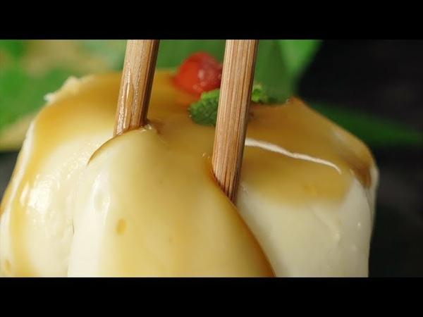 【つまみたくなる?😏】もっちり杏仁豆腐餅