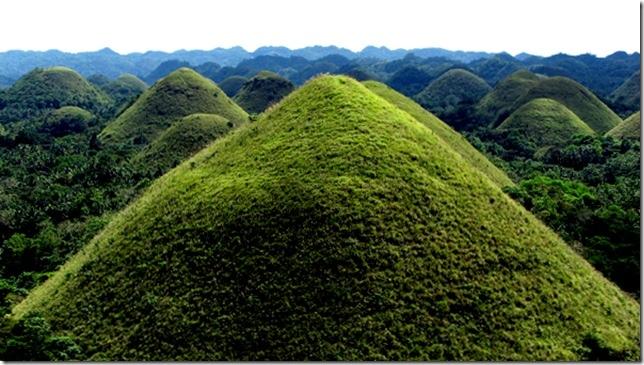 Шоколадные холмы на острове Бохол, изображение №2