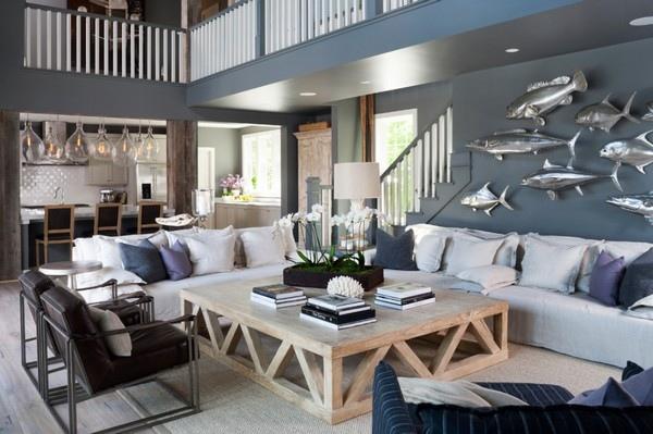 Дизайн интерьера в морском стиле, изображение №7