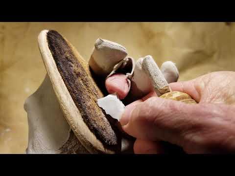 Abo Flintknapping Small Toyah Arrowhead Reproduction