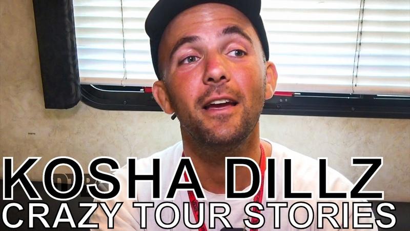 Kosha Dillz CRAZY TOUR STORIES Ep 655 Warped Edition 2018