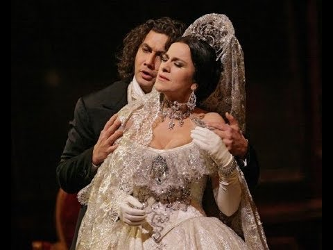Jonas Kaufmann Angela Gheorghiu breathtaking in La Traviata's Act II scene 2006