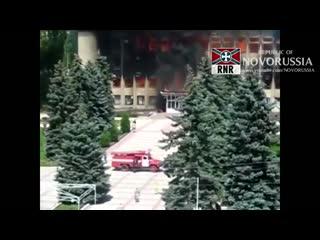 """""""Сидящие в подвале"""" бойцы 73-го и 140-го центра СпН ВСУ прыгают из окон в Дзержинске"""