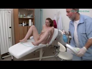 Gyno-X Jessica Jones Medical Fetish, Gyno Exam, Teen, Redhead, Anal Checkup, Vaginal Enema, Masturbation