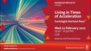 Living in times of acceleration Lecture by sociologist Hartmut Rosa