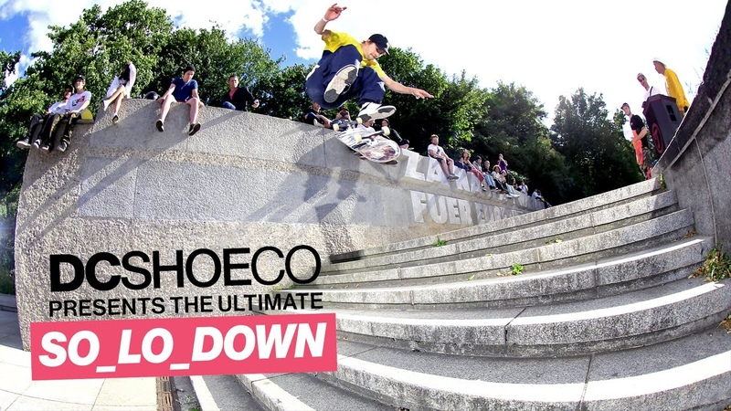 DC Shoes SO_LO_DOWN Berlin co-hosted by TITUS | Wes Kremer, Evan Smith, T-Funk, John Shanahan